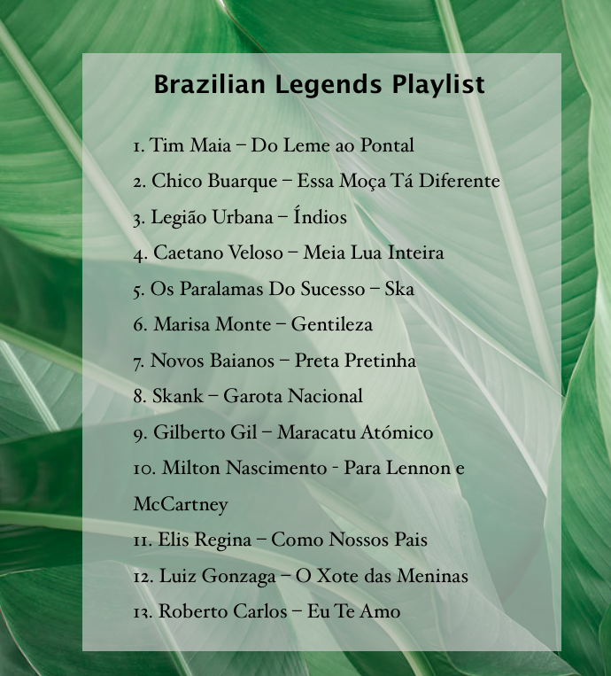 Brazilian Music Playlist - Footloose Lemon Juice