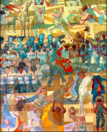 Candido Portinari, Peace, 1952-1956 UN Headquarters - Brazilian Painters