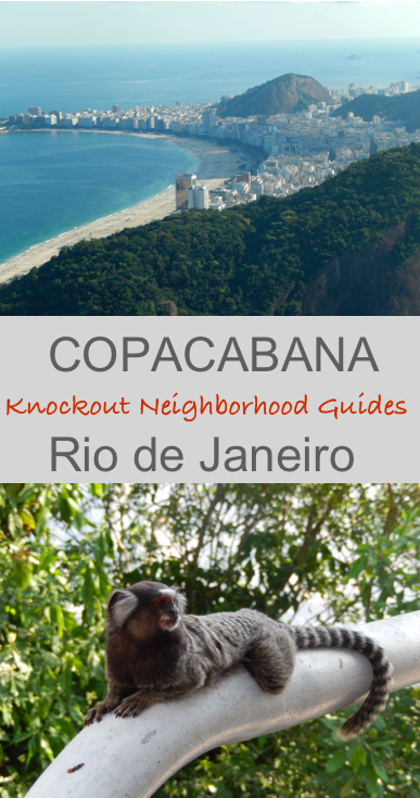 Copacabana Knockout Neighbourhood Guides - Footloose Lemon Juice